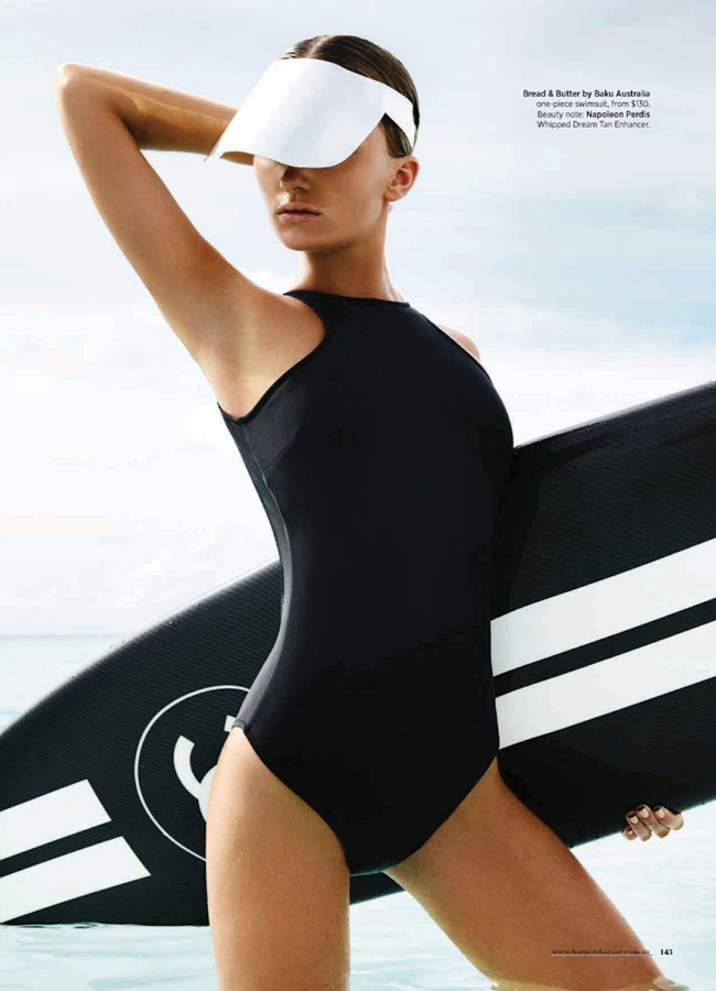 HARPER'S BAZAAR AUSTRALIA- Annabella Barber in Wave Rider by Simon Lekias. Thelma McQuillan, January 2013, www.imageamplified.com, Image Amplified (2)