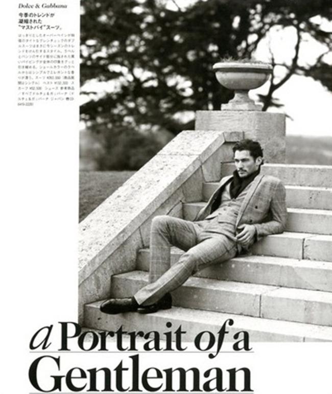GQ JAPAN- David Gandy in A Portrait Of A Gentleman by Arnaldo Anaya-Lucca. Paul Mather, www.imageamplified.com, Image Amplified