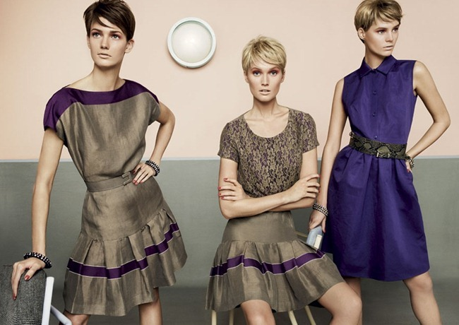 CAMPAIGN- Kendra Spears, Juju Ivanyuk & Toni Garrn for MaxMara Studio Spring 2013 by Giampaolo Sgura. www.imageamplified.com, Image Amplified (5)