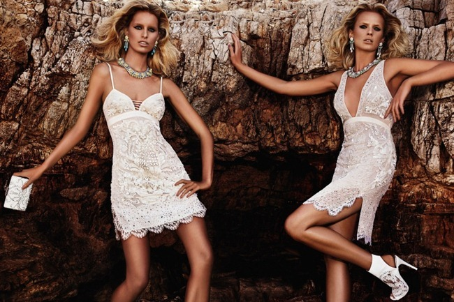 CAMPAIGN- Anne Vyalitsyna & Karolina Kurkova for Roberto Cavalli Resort 2013 by Giampaolo Sgura. www.imageamplified.com, Image Amplified (3)
