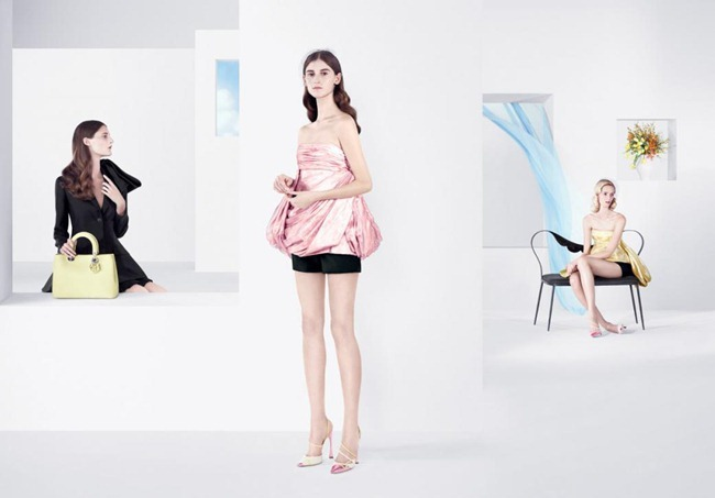 CAMPAIGN- Daria Strokous, Anna Martynova, Daiane Conterato & Marie Piovesan for Christian Dior Spring 2013 by Willy Vanderperre. www.imageamplified.com, Image Amplified (3)
