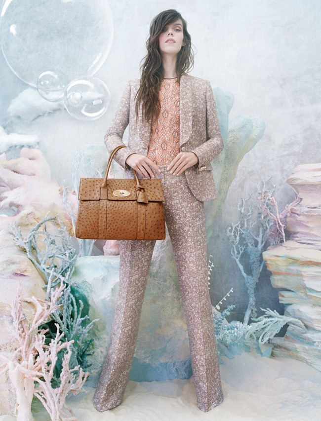CAMPAIGN- Meghan Colison for Mulberry Spring 2013 by Tim Walker. www.imageamplified.com, Image Amplified