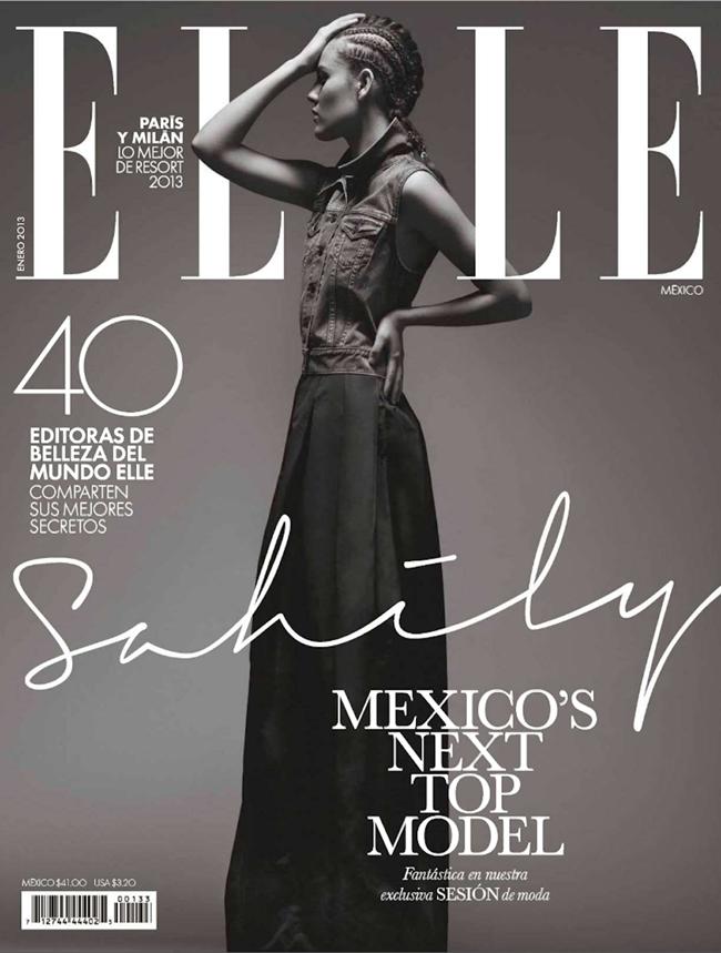 ELLE MEXICO- Sahily Cordova by Santiago Ruisenor. Pamela Ocampo, January 2013, www.imageamplified.com, Image Amplified