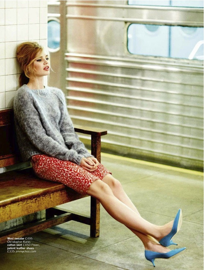 GLAMOUR UK- Milou Sluis in Cool Days Look Like This by Chris Craymer. Emer Dewar, February 2013, www.imageamplified.com, Image Amplified (4)