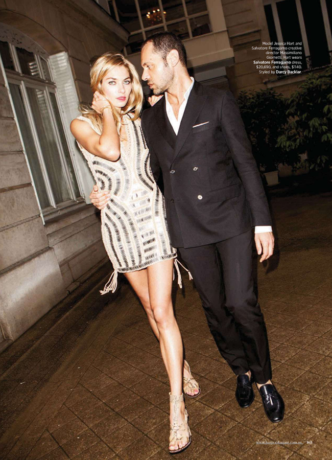 HARPER'S BAZAAR AUSTRALIA- Jessica Hart & Massimiliano Giornetti in Fashion's Best Kept Secret by Magnus Unnar. January 2013, Darcy Backlar, www.imageamplified.com, Image Amplified (1)
