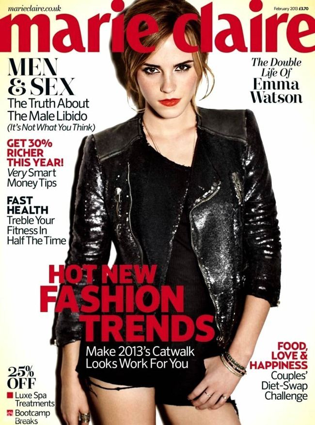 MARIE CLAIRE UK- Emma Watson by Alexi Lubomirski. February 2013, www.imageampilfied.com, Image Amplified