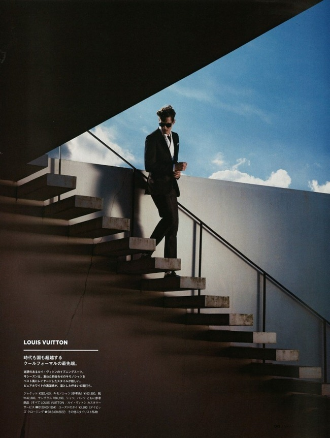 GQ JAPAN- Greg Nawrat in A Natural Elegance by Toshio Onda. Grant Pearce, www.imageamplified.com, Image Amplified (3)