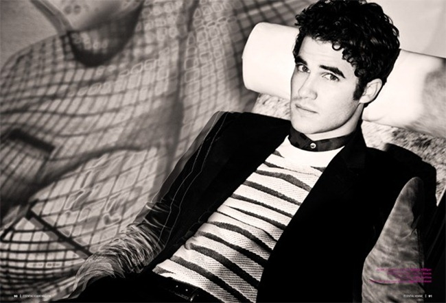 ESSENTIAL HOMME MAGAZINE- Darren Criss in Criss Almighty by Eli Schmidt. Ashley WEston, February 2013, www.imageamplified.com, Image Amplified