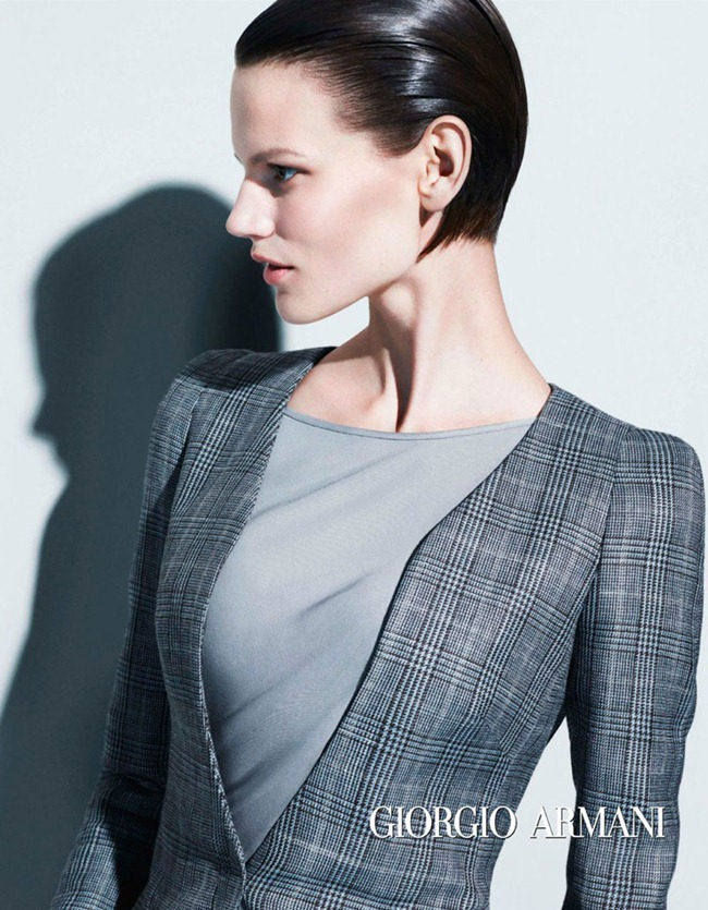 CAMPAIGN- Saskia de Brauw for Giorgio Armani Spring 2013 by Mert & Marcus. www.imageamplified.com, Image Amplified (3)