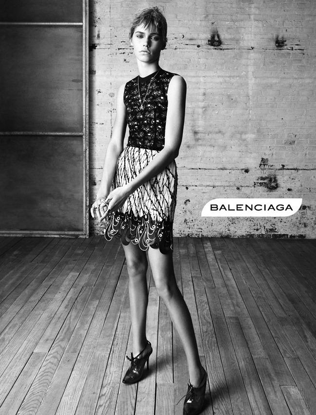 CAMPAIGN- Kremi Otashliyska, Kirstin Liljegren & Sam Rollinson for Balenciaga Spring 2013 by Steven Meisel. www.imageamplified.com, Image Amplified (3)