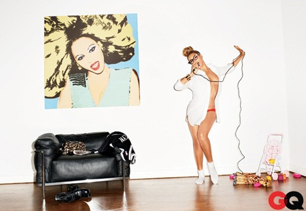 GQ MAGAZINE- Beyonce in Miss Millennium by Terry Richardson. February 2013, www.imageamplified.com, Image Amplified (5)