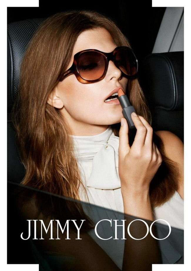 CAMPAIGN- Valerija Kelava & Andres Velencoso Sgura for Jimmy Choo Spring 2013 by Angelo Pennetta. Camilla Nickerson, www.imageamplified.com, Image Amplified