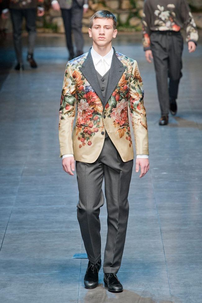 MILAN FASHION WEEK- Dolce & Gabbana Fall 2013. www.imageamplified.com, Image Amplified (49)