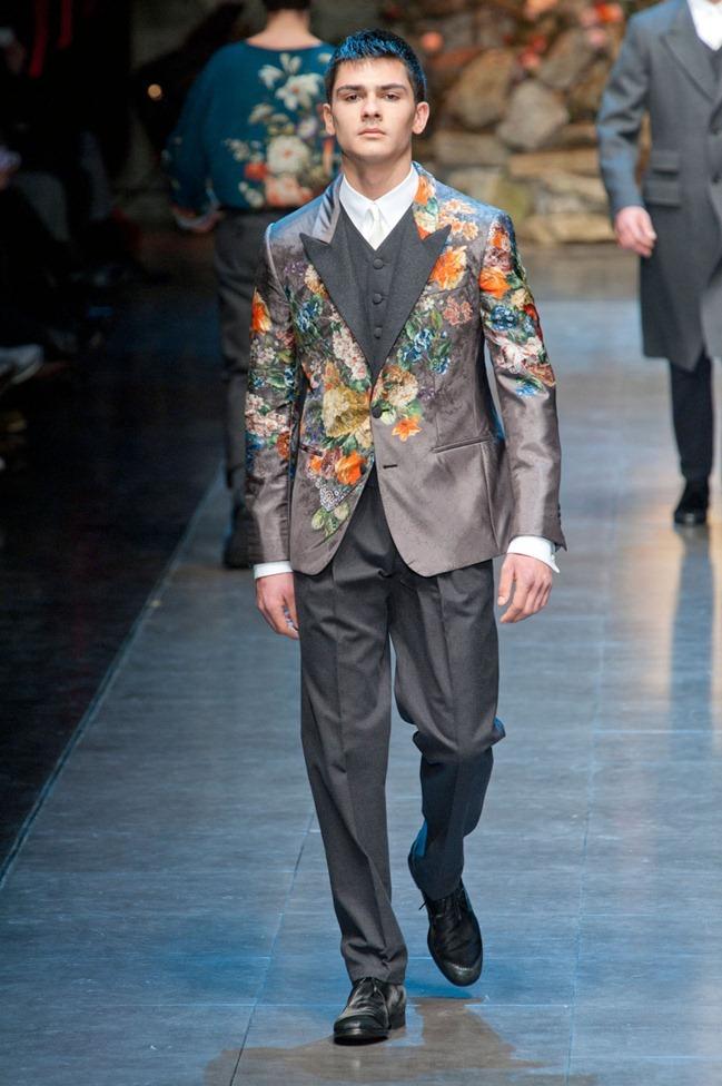 MILAN FASHION WEEK- Dolce & Gabbana Fall 2013. www.imageamplified.com, Image Amplified (51)