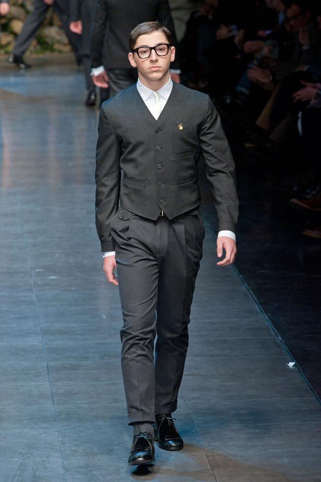 MILAN FASHION WEEK- Dolce & Gabbana Fall 2013. www.imageamplified.com, Image Amplified (56)