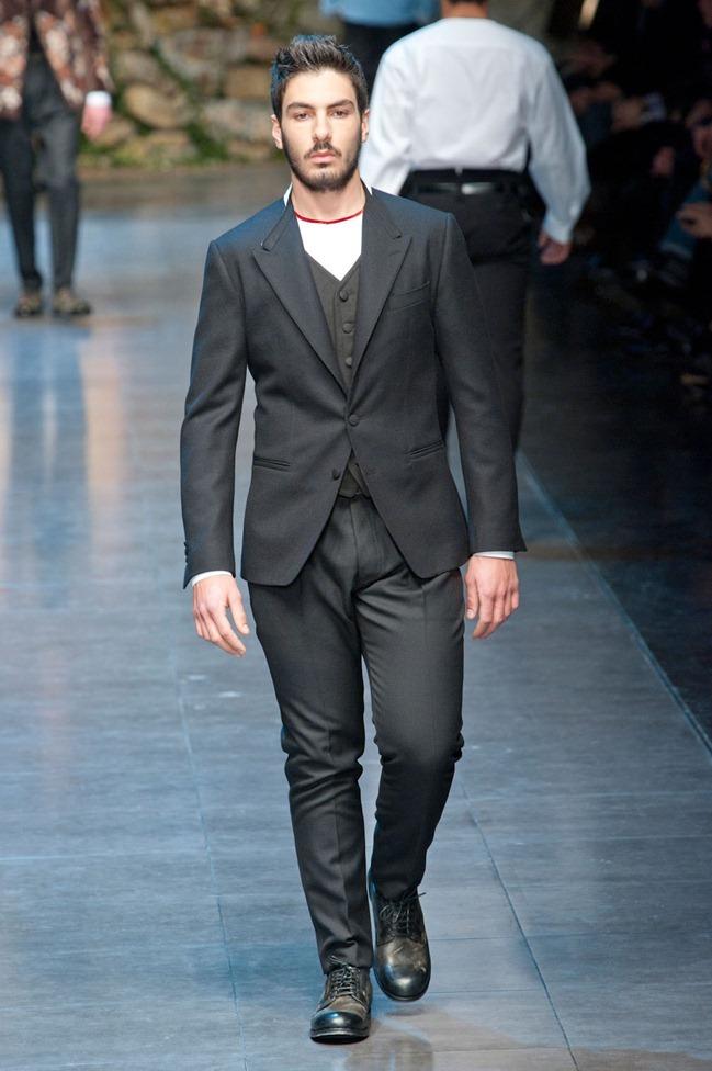 MILAN FASHION WEEK- Dolce & Gabbana Fall 2013. www.imageamplified.com, Image Amplified (74)