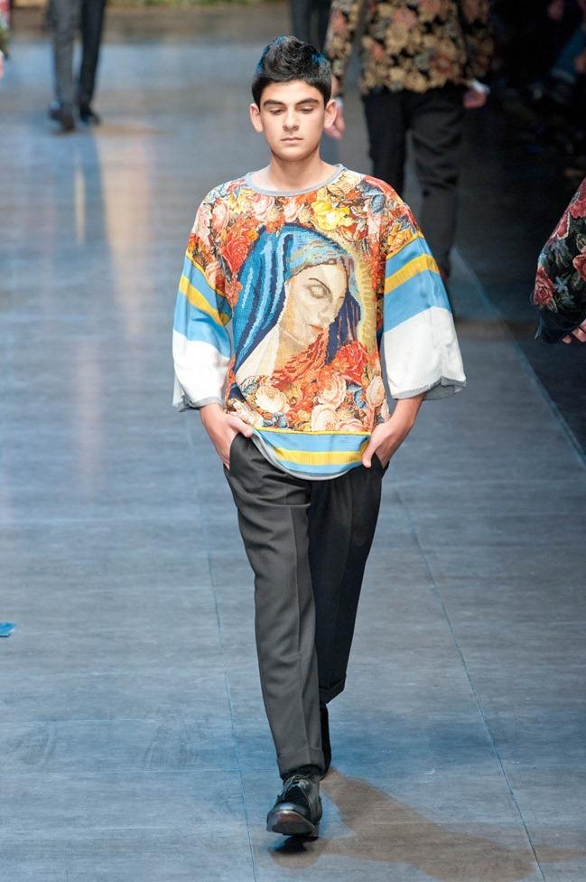 MILAN FASHION WEEK- Dolce & Gabbana Fall 2013. www.imageamplified.com, Image Amplified (80)