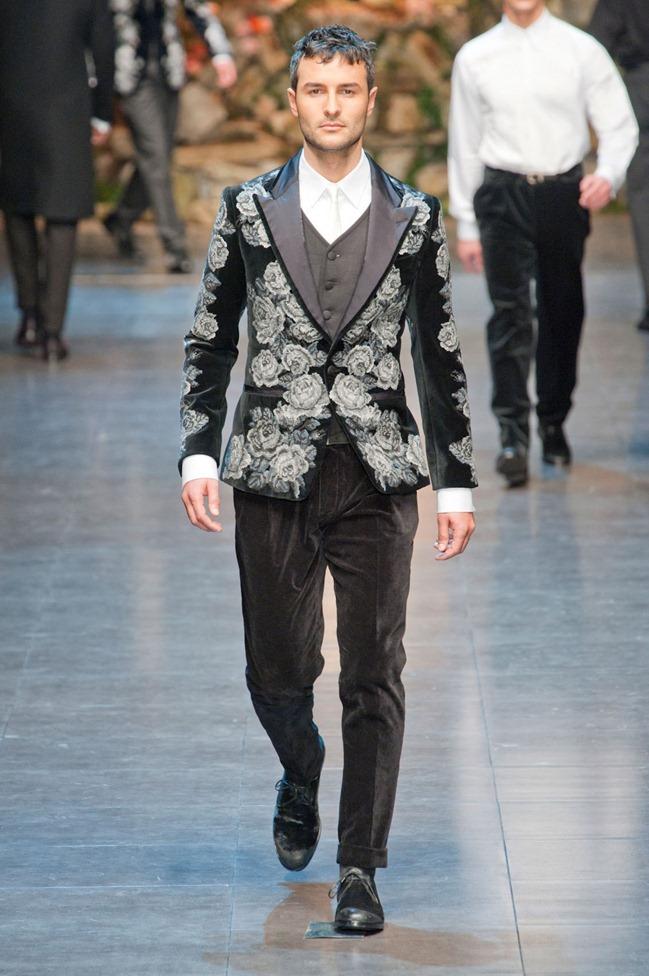 MILAN FASHION WEEK- Dolce & Gabbana Fall 2013. www.imageamplified.com, Image Amplified (16)