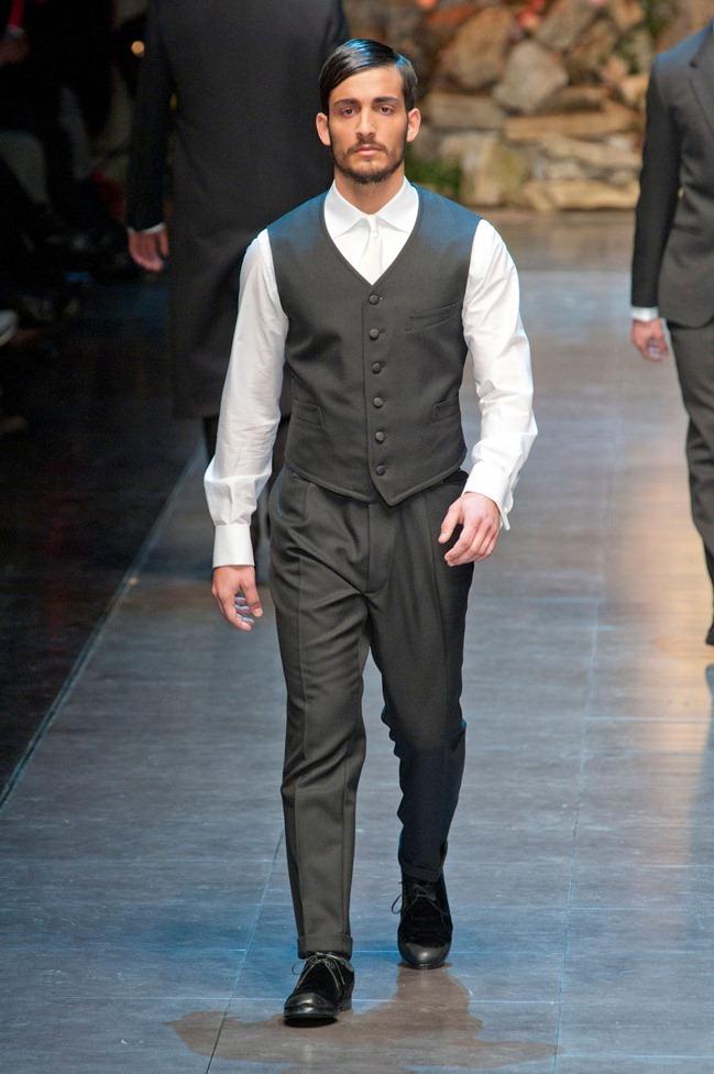MILAN FASHION WEEK- Dolce & Gabbana Fall 2013. www.imageamplified.com, Image Amplified (39)