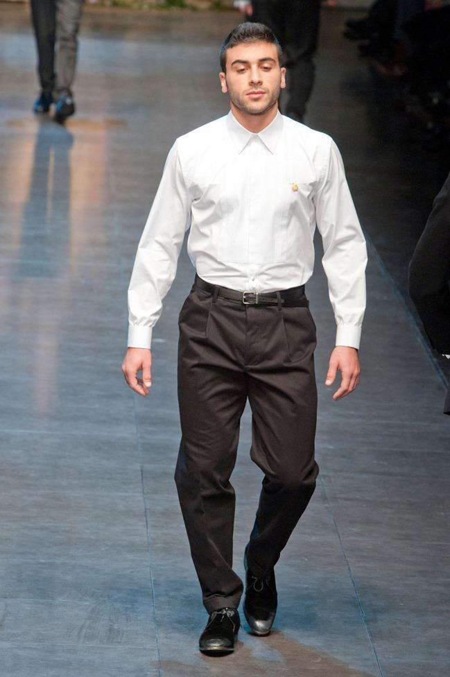 MILAN FASHION WEEK- Dolce & Gabbana Fall 2013. www.imageamplified.com, Image Amplified (41)