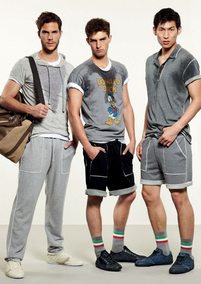 LOOKBOOK- Adam Senn, Enrique Palacios, Elbio Bonsaglio, Paolo Anchisi, Tomas Guarracino & Jae Yoo for Dolce & Gabbana Gym Collection Spring 2013. www.imageamplified.com, Image Amplified (1)