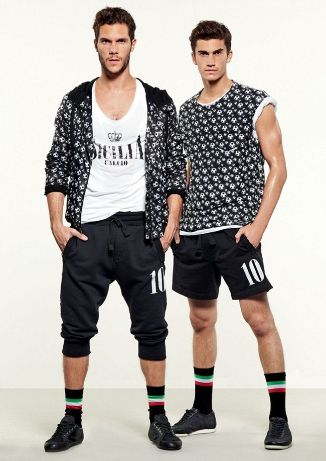 LOOKBOOK- Adam Senn, Enrique Palacios, Elbio Bonsaglio, Paolo Anchisi, Tomas Guarracino & Jae Yoo for Dolce & Gabbana Gym Collection Spring 2013. www.imageamplified.com, Image Amplified (4)