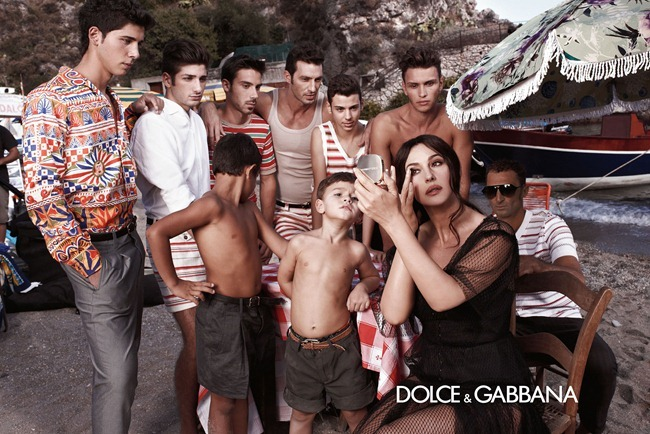 CAMPAIGN- Monica Bellucci & Others for Dolce & Gabbana Menswear Spring 2013 by Domenico Dolce. Stefano Gabbana, www.imageamplified.com, Image Amplified (9)