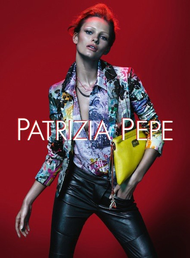 CAMPAIGN- Edita Vilkeviciute for Patrizia Pepe Spring 2013 by Mert & Marcus. www.imageamplified.com, Image Amplified