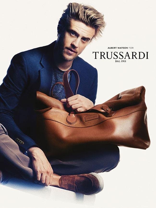CAMPAIGN- Amber Anderson & Boyd Holbrook for Trussardi Spring 2013 by Albert Watson. www.imageamplified.com, Image Amplified (2)
