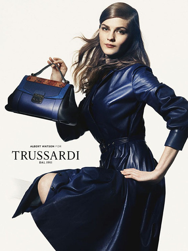 CAMPAIGN- Amber Anderson & Boyd Holbrook for Trussardi Spring 2013 by Albert Watson. www.imageamplified.com, Image Amplified (3)