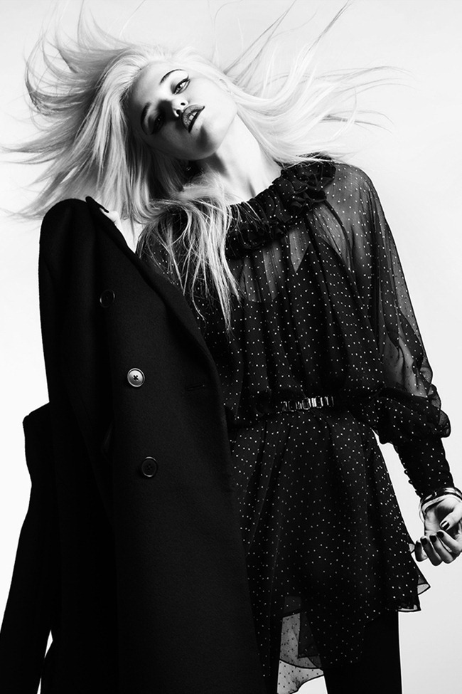COLLECTION- Sky Ferreira for Saint Laurent Paris Pre-Fall 2013. www.imageamplified.com, Image Amplified