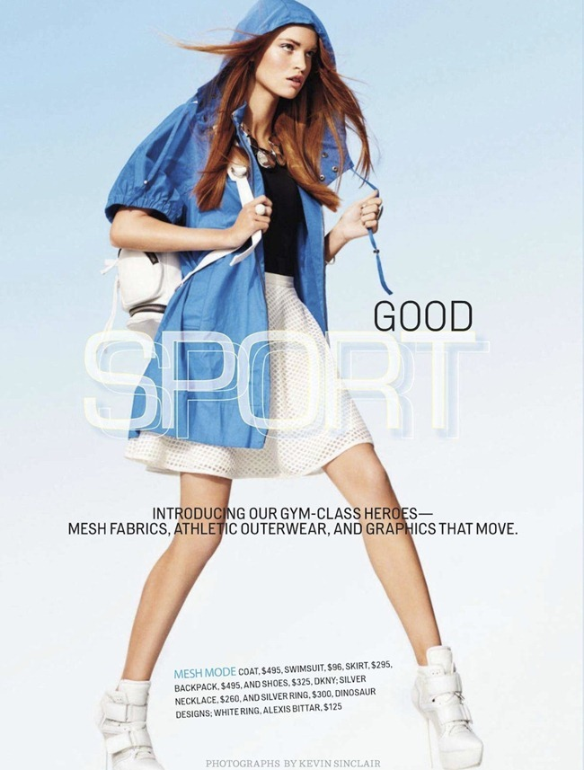 COSMOPOLITAN- Luisa Bianchin in Good Sport by Kevin Sinclair. Amri Kibbler, February 2013, www.imageamplified.com, Image Amplified