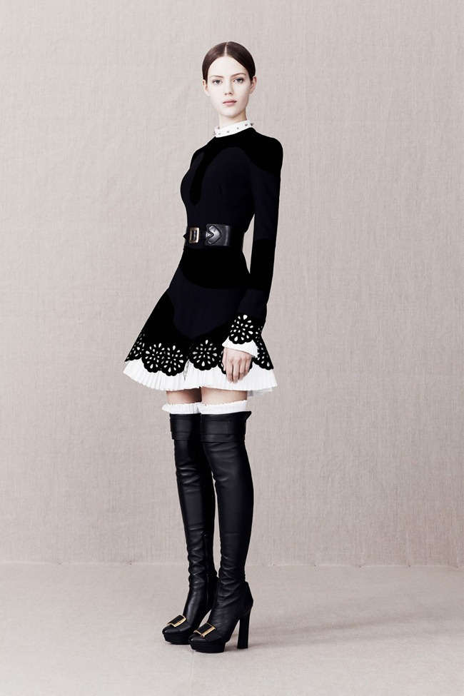 COLLECTION- Alexander McQueen Pre-Fall 2013. www.imageamplified.com, Image Amplified (3)