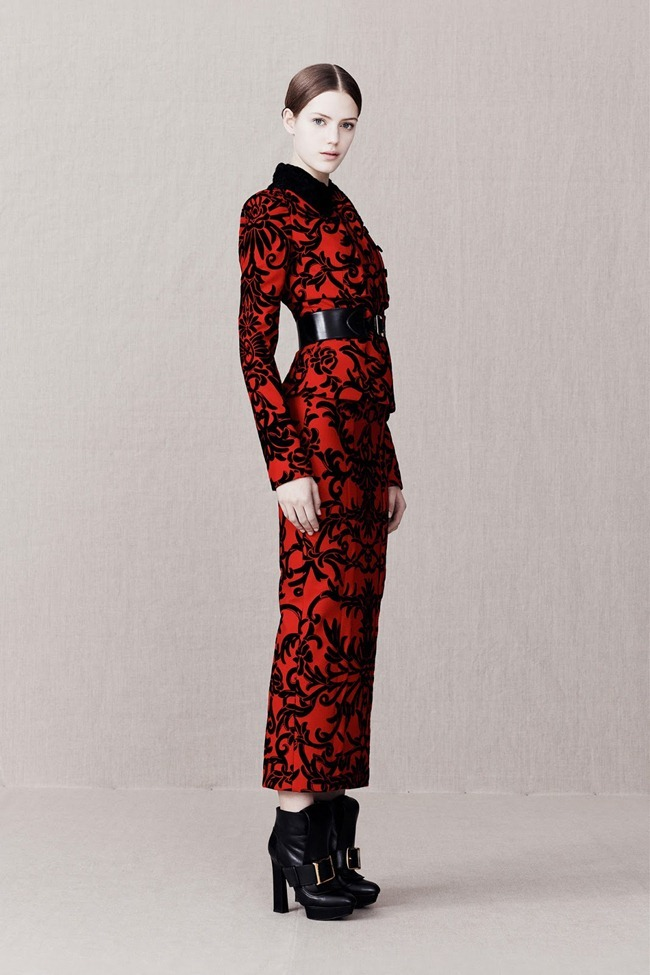 COLLECTION- Alexander McQueen Pre-Fall 2013. www.imageamplified.com, Image Amplified (7)