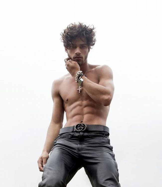 Something Hot male model pablo morais opinion you