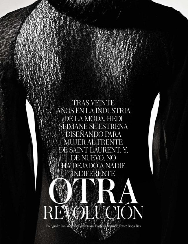 VOGUE SPAIN- Jourdan Dunn in Otra Revolucion by Jan Welters. Barbara Baumel, February 2013, www.imageamplified.com, Image Amplified