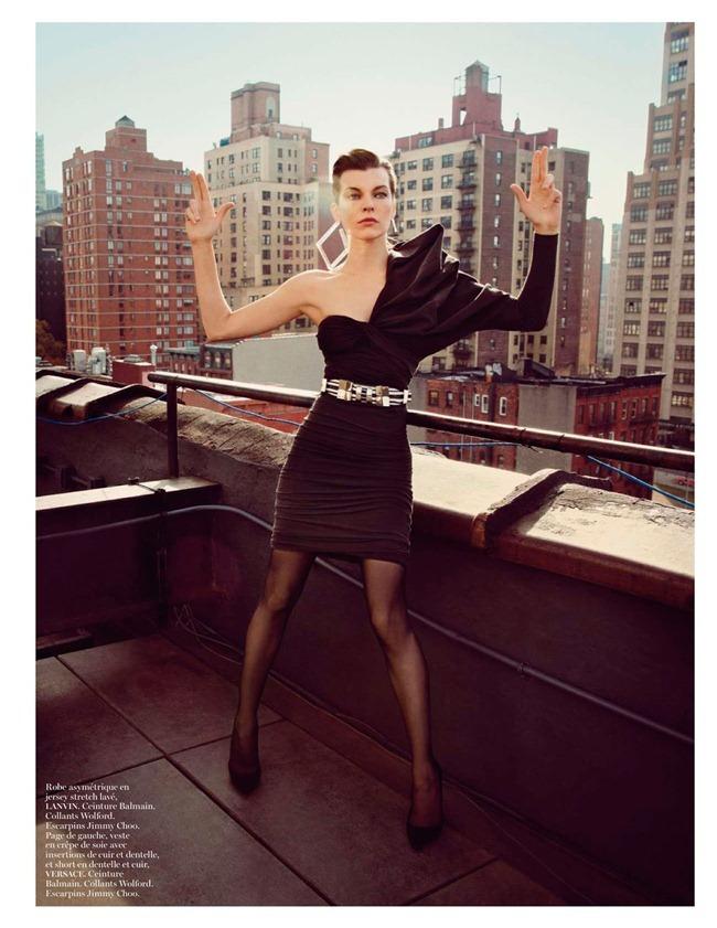 VOGUE PARIS: Milla Jovivch in New York Partie 6a00e54ecca8b98833017d40444821970c-pi