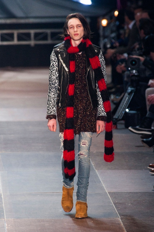 PARIS FASHION WEEK- Saint Laurent Fall 2013. www.imageamplified.com, Image Amplified (7)