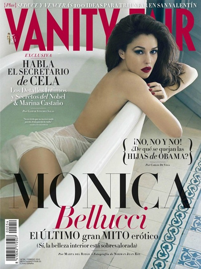 VANITY FAIR SPAIN- Monica Bellucci in Entre Las Mujeres by Mariano Vivanco. February 2013, www.imageamplified.com, Image Amplified (1)