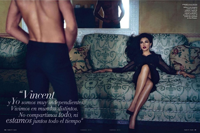 VANITY FAIR SPAIN- Monica Bellucci in Entre Las Mujeres by Mariano Vivanco. February 2013, www.imageamplified.com, Image Amplified (4)
