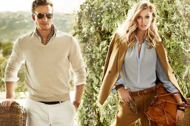 CAMPAIGN- Toni Garrn for Massimo Dutti Spring 2013 by Mario Testino. www.imageamplified.com, Image Amplified