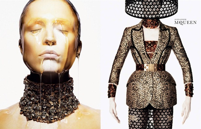 CAMPAIGN- Raquel Zimmermann for Alexander McQueen Spring 2013 by David Sims. www.imageamplified.com, Image Amplified (1)