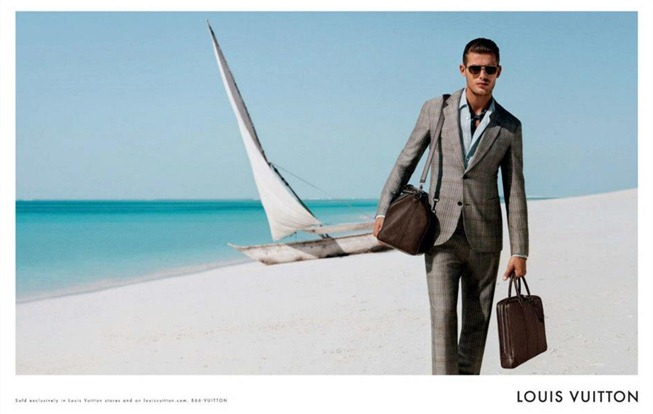CAMPAIGN- Jacey Elthalion for Louis Vuitton Menswear Spring 2013 by Alasdair McLellan. www.imageamplified.com, Image Amplified (2)