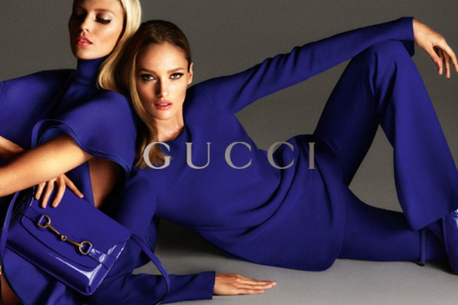CAMPAIGN- Anja Rubik, Karmen Pedaru & Clement Chabernaud for Gucci Spring 2013 by Mert & Marcus. www.imageamplified.com, Image Amplified (1)