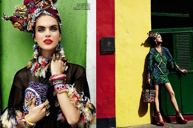 VOGUE BRAZIL- Mirte Maas, Suzane & Suzana in Carmen Miranda Reloaded by Giampaolo Sgura. Anna Dello Russo, February 2013, www.imageamplified.com, Image Amplified (4)
