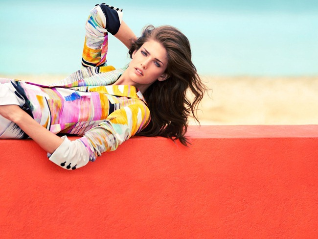 CAMPAIGN- Kendra Spears for Escada Spring 2013 by Knoepfel & Indlekofer. www.imageamplified.com, Image Amplified (2)