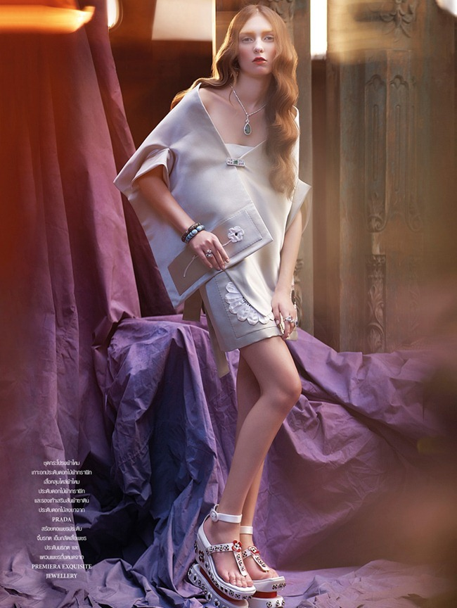 L'OFFICIEL THAILAND- Daria Fomina in Lady Lilith by Apichart Chaichulla. Pop Kampol, February 2013, www.imageamplified.com, Image Amplified (2)