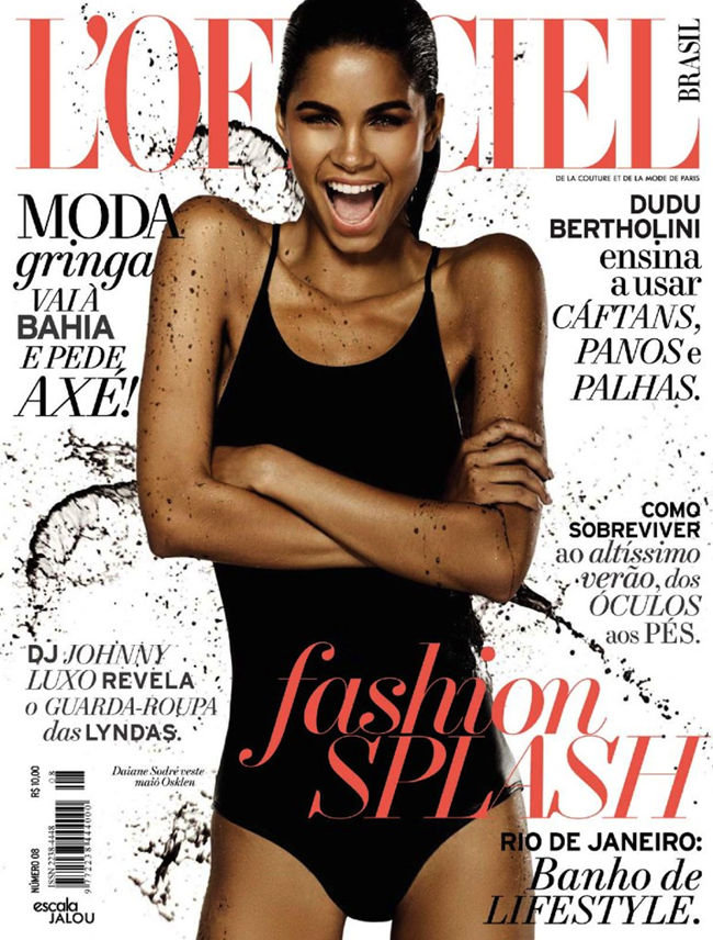 L'OFFICIEL BRASIL- Daiane Sodre in Aqua Lung by Andre Passos. Ciro Maidena, February 2013, www.imageamplified.com, Image Amplified