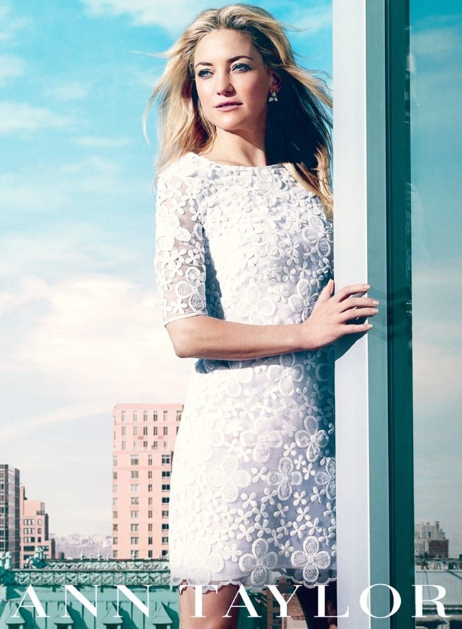 CAMPAIGN- Kate Hudson for Ann Taylor Spring 2013 by Norman Jean Royo. www.imageamplified.com, Image Amplified (2)