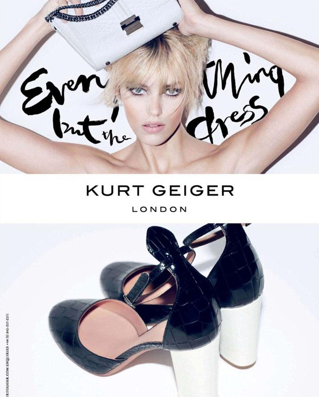 CAMPAIGN- Anja Rubik for Kurt Geiger London Spring 2013 by Sarah Richardson. www.imageamplified.com, Image Amplified (4)